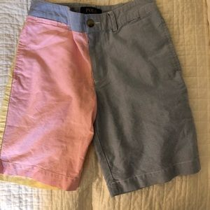 Ralph Lauren patchwork shorts